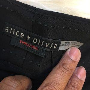 Alice + Olivia Shorts - Alice+Olivia Employed Black Career Shorts New